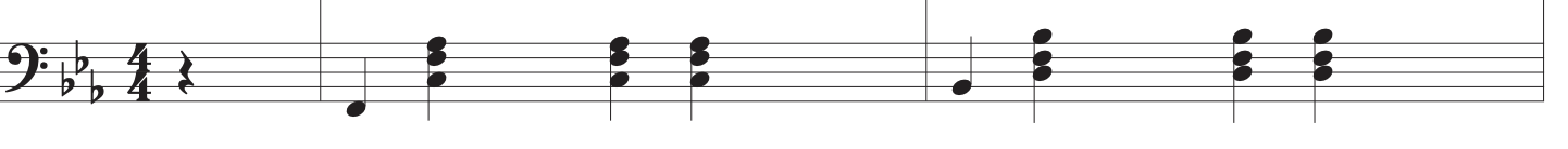 how to play cardigan left hand